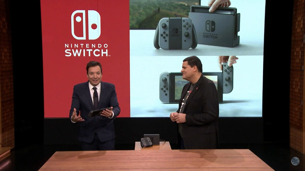 The Nintendo Switch Makes its Debut at The Tonight Show Starring Jimmy Fallon!