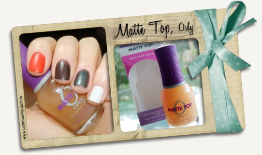 matte top orly