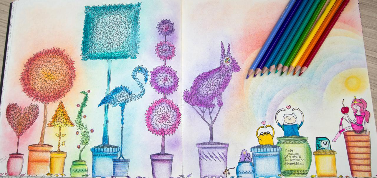 ideias jardim secreto:peq_jardim secreto pinturas ideias inspirações2