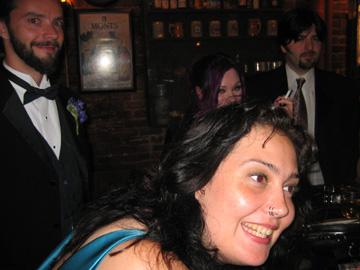 Folks at a bar