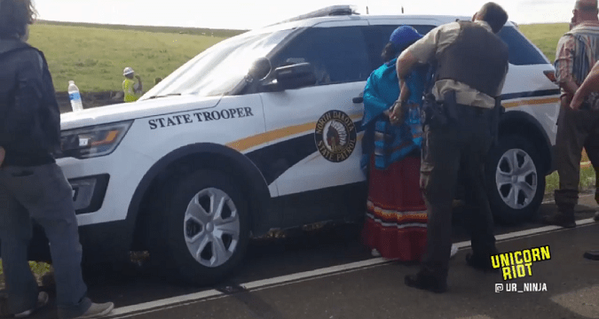 Arrests Made as Citizens Block Dakota Access Pipeline Construction
