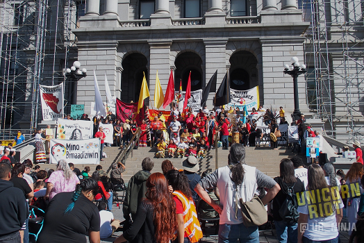 Four Directions March Celebrates Denver's Passage of Indigenous Peoples' Day
