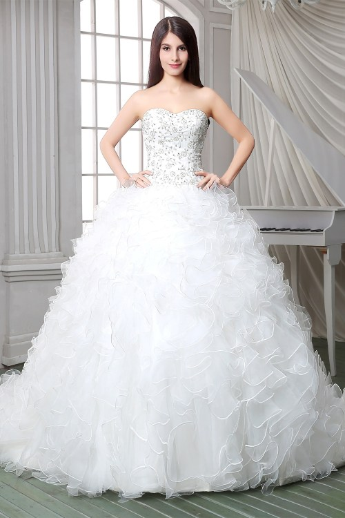 Medium Of Corset Wedding Dresses