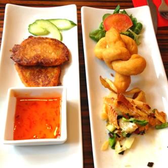Caribbean Caterers Birmingham, Festivals, Ackee, Saltfish, Dumplings, Chicken Skewers, Starter Menu