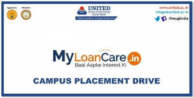 """Placement Drive of """"MyLoanCare.In"""" for MBA/B.Tech/BBA/BCA/BA(JMC)2019 passing out batch on 2nd ..."""