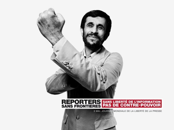 Campaña Reporteros Sin Fronteras para el Día Mundial de la Libertad de prensa 2013