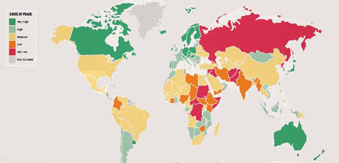 Índice de Paz Global 2013
