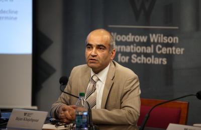 Bijan Khajehpour. Imagen: Wilson Center's Iranian business.