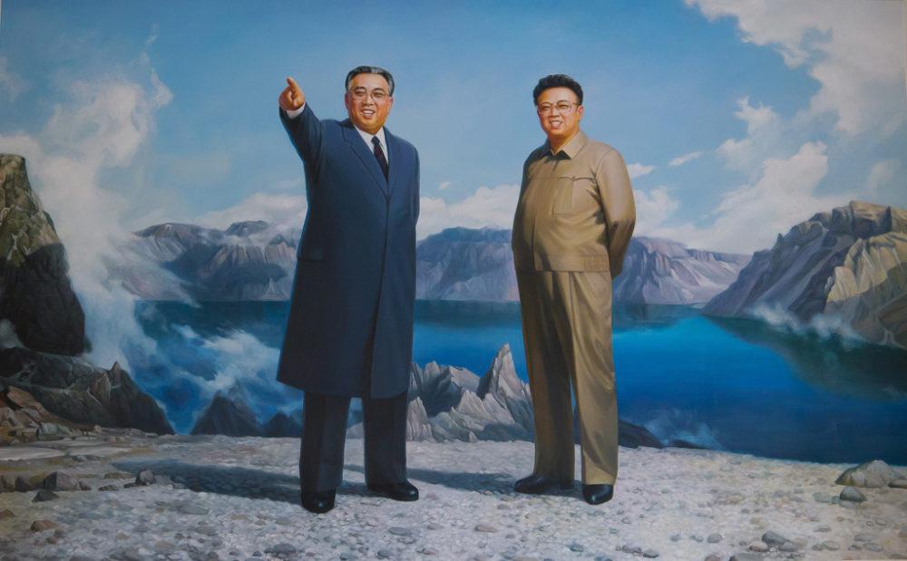 Kim II-sung y Kim Jong-il (El Español)