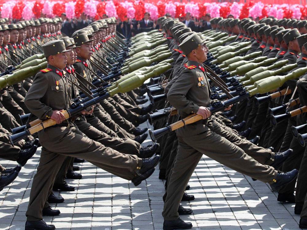 Militares norcoreanos (Taringa.net)
