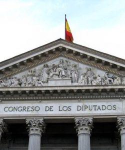 Fachada del Congreso de los Diputados [Vía Flickr]