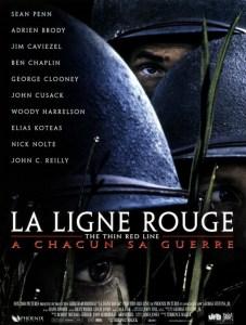 """Affiche du film """"La Ligne rouge"""""""