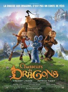 """Affiche du film """"Chasseurs de dragons"""""""
