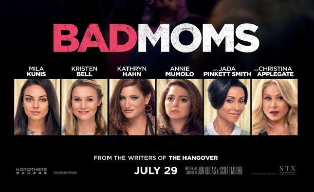 Pioggia di nuovi video promozionali per Bad Moms – Mamme Molto Cattive