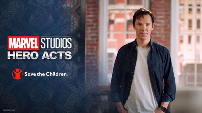 Benedict Cumberbatch lancia la campagna umanitaria Marvel Studios: Hero Acts
