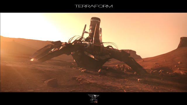 [Sci-fi World] Rendere il Pianeta Rosso abitabile è la trama dell'affascinate corto Terraform by ArtFX