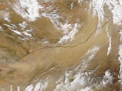 Gobi Desert. Image credit: NASA