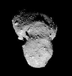 Asteroid Itokawa. Image credit: JAXA