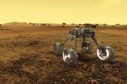 Artist illustration of a Venus rover. Image credit: NASA