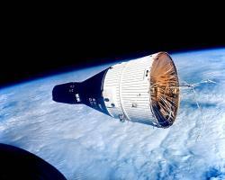 The Gemini orbiter. Cosy (credit: NASA)