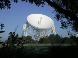 The Lovell Telescope at Jodrell Bank (credit: Jodrell Bank)