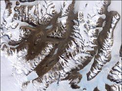Dry Valleys. Image credit: NASA
