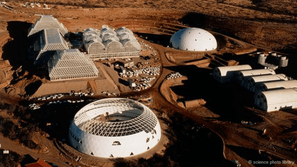 The Biosphere 2 project is an attempt to simulate Mars-like conditions on Earth. Credit: Science Photo Library