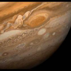 Great Red Spot. Image credit: NASA/JPL