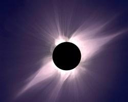 Solar Eclipse. Image credit: NASA