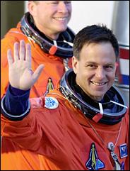 Astronaut Ilan Ramon departs for his flight aboard Columbia. Credit: Chris O'Meara/Associated Press
