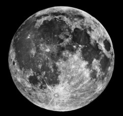 NASA's image of the Moon