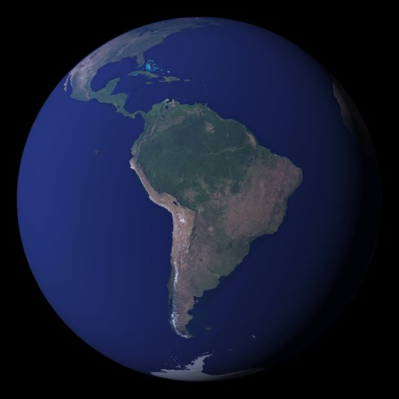 World satellite map. Image credit: NASA