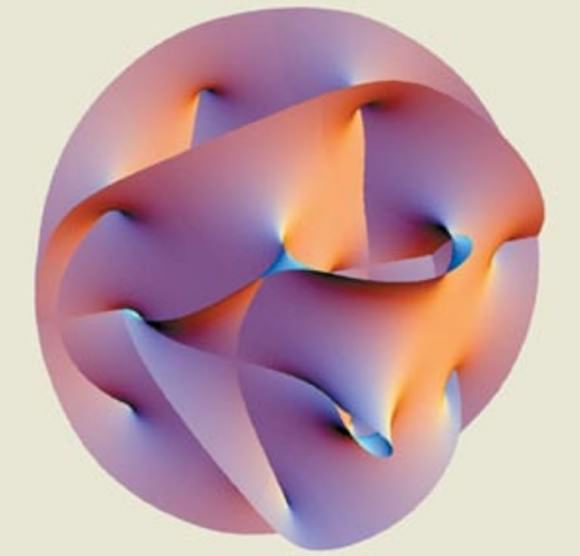 String space - superstring theory lives in 10 dimensions, which means that s