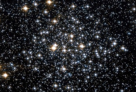 The M71 Globular Cluster, as pictured by the Hubble space telescope. Credit: NASA
