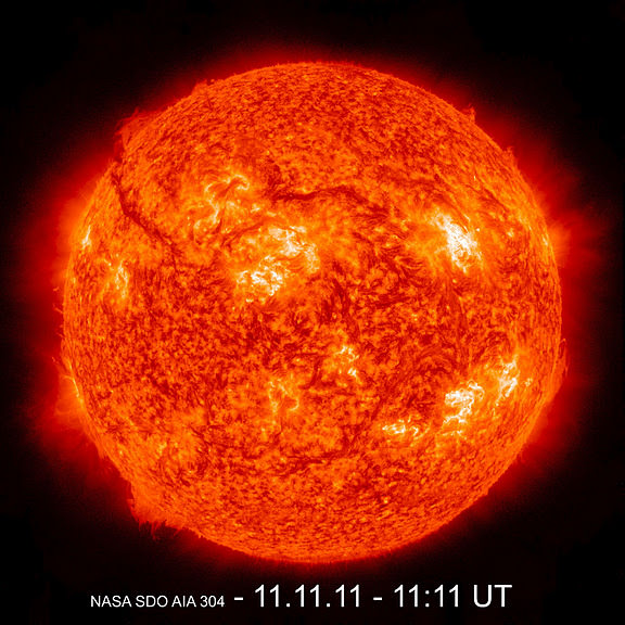 The Sun. Image credit: NASA/SDO