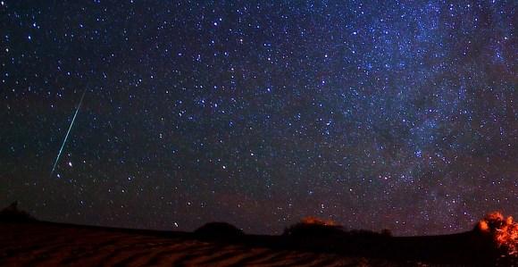 Meteor still shot from 'Death Valley Dreaml