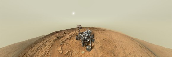 Curiosity panorama. Credit: NASA/JPL/MSSS, image editing by Andrew Bodrov.