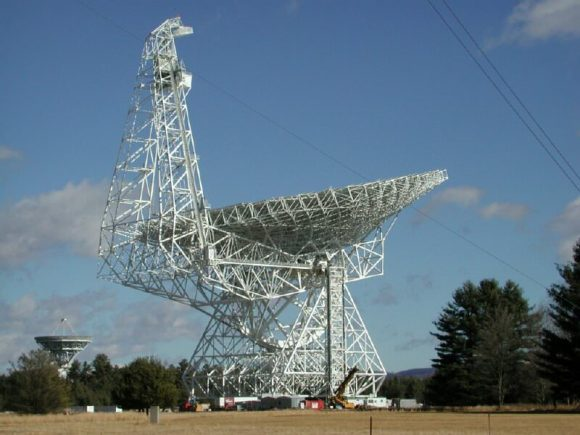 The Green Bank Telescope.  Credit: NRAO