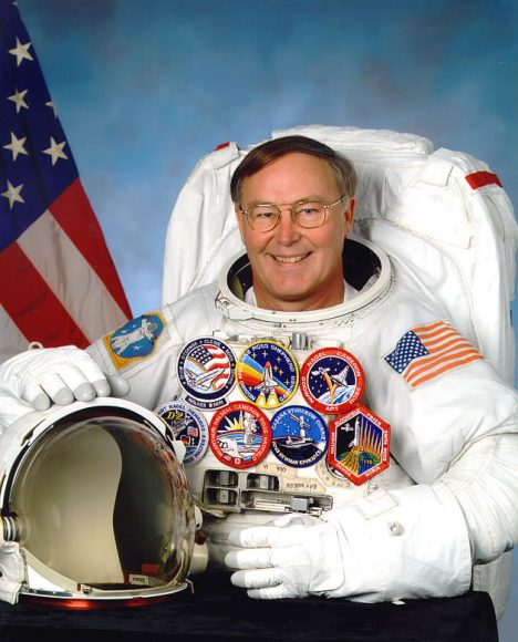 Jerry Ross, frequent flying astronaut. Credit: NASA