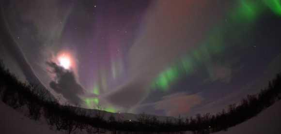 Aurora over Sweden on Ma