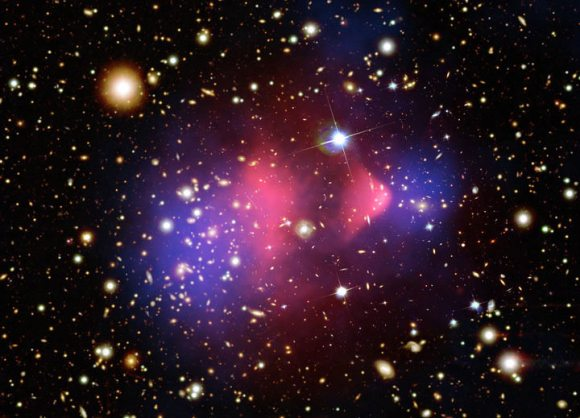 The international Super Cryogenic Dark Matter Search (SuperCDMS) has detected what may be the particle that's thought to make up dark matter throughout the Universe.