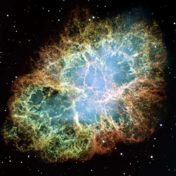 Crab Nebula from NASA's Hubble Space Telescope