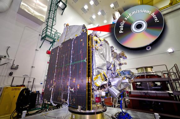 The MAVEN missions 'Going to Mars' campaign invites submissions from the public; artwork, messages, and names will be included on a special DVD. The DVD will be a