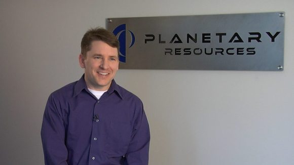 Chris Lewicki is the President and Chief Engineer for Planetary Resources, Inc. Image courtesy Planetary Resources.