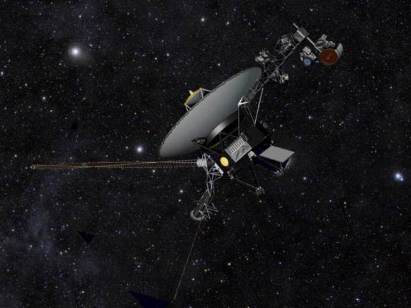 Has Voyager 1 actually left the Solar System? Some researchers are saying yes. (Image: NASA/JPL-Caltech)