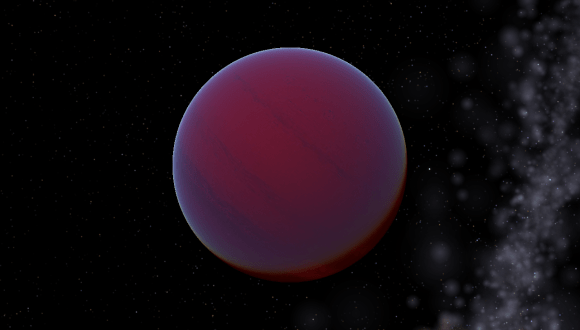 An artist's conception of a T-type brown dwarf. (Credit: Tyrogthekreeper under a Wikimedia Commons Attribution-Share Alike 3.0 Unported license).