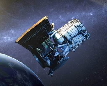 Artist's impression of the WISE satellite