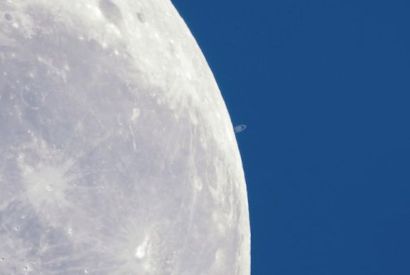 Occultation of Saturn on Feb. 22, 2014 by Colin Legg