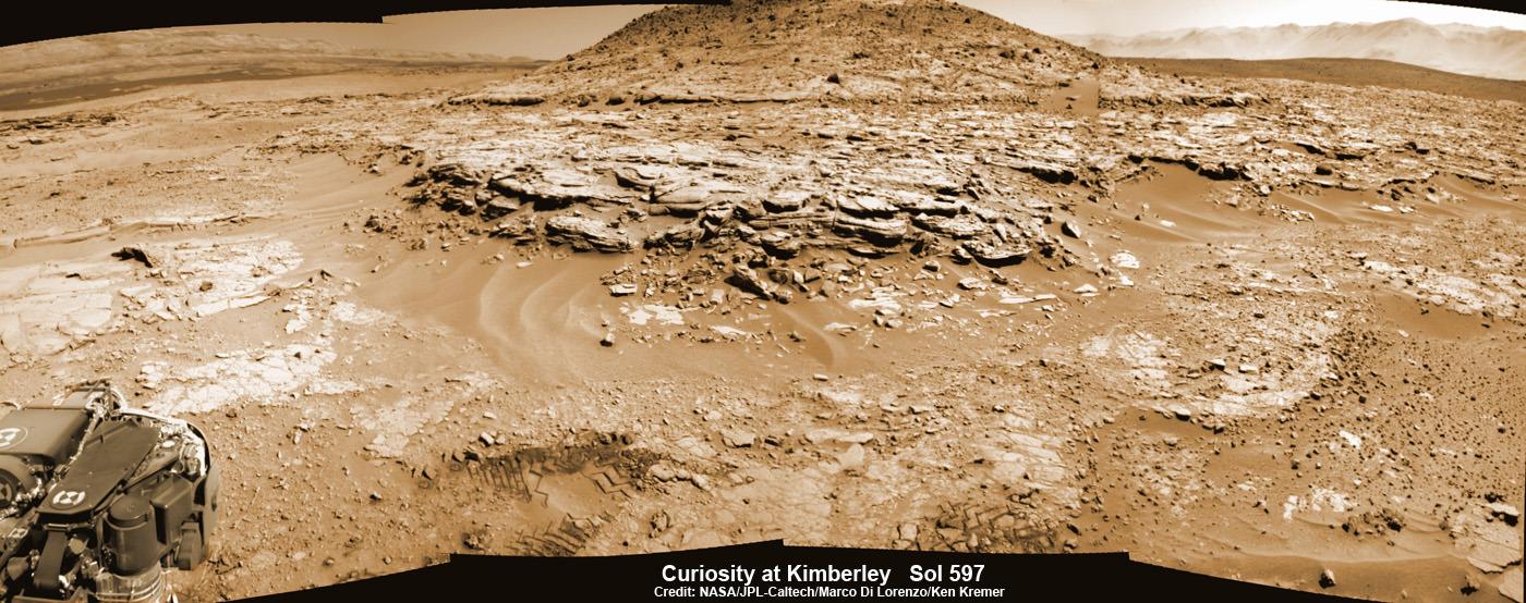 mars surface curiosity panorama - photo #31