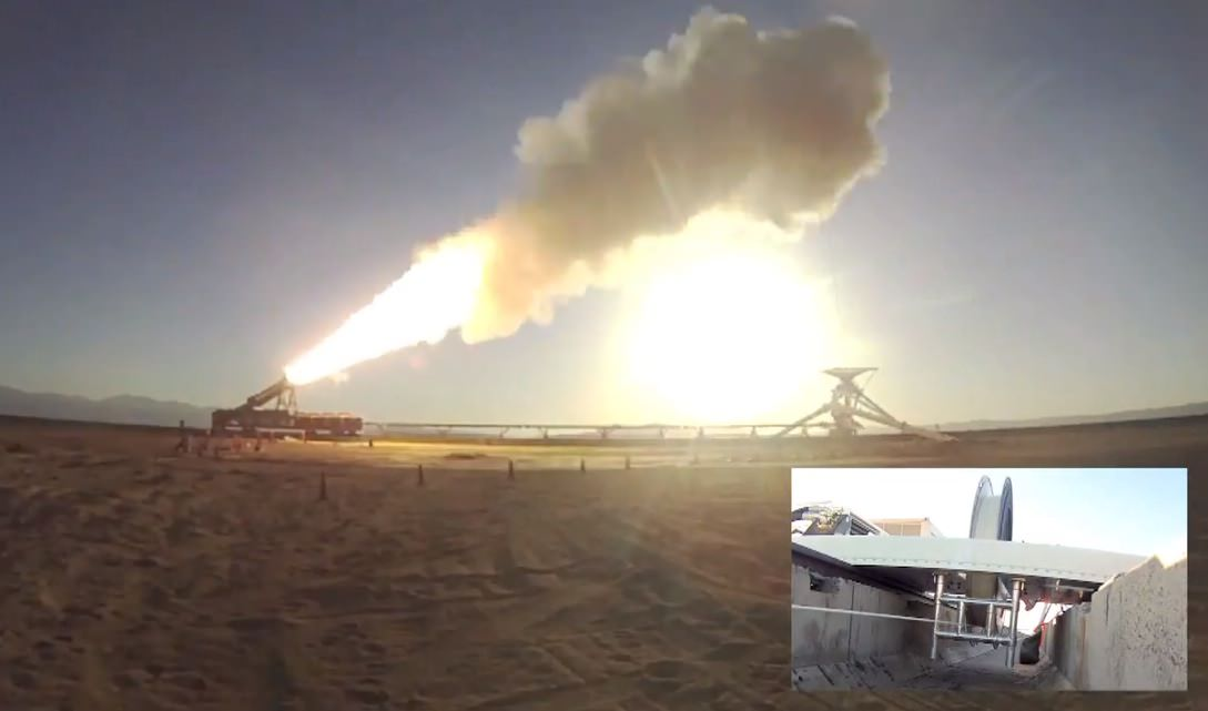 No rocket sleds were harmed in the making of this video. (NASA/JPL)